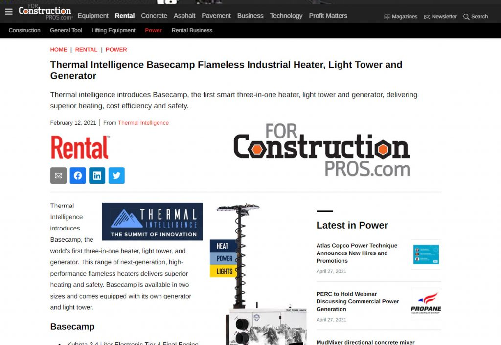 Basecamp Featured on For Rentals Pro