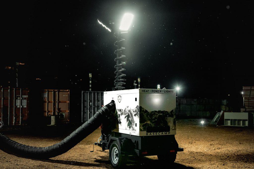 Heater, Light Tower & Generator